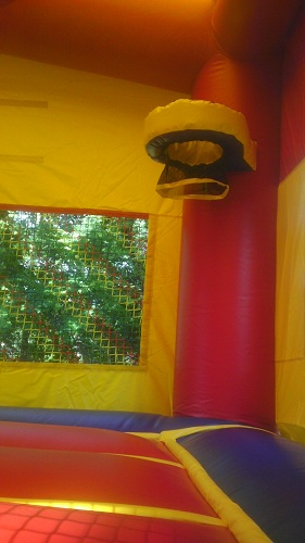 bounce house moonwalk kc combo