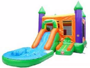 bounce house water slide moonwalk KC
