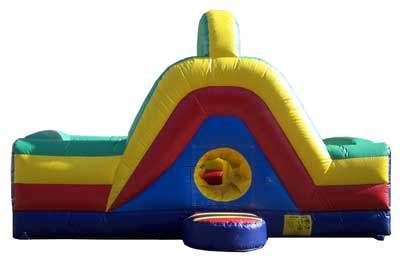 bounce house obstacle slide 3