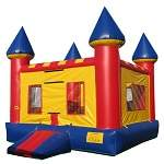 standard moonwalk bounce house inflatable