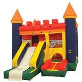 combo moonwalk bounce house inflatables
