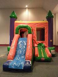 bounce house combo moonwalk kc